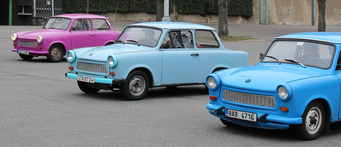 Trabant Prague Tour transfer z letiste a tour na 45 min